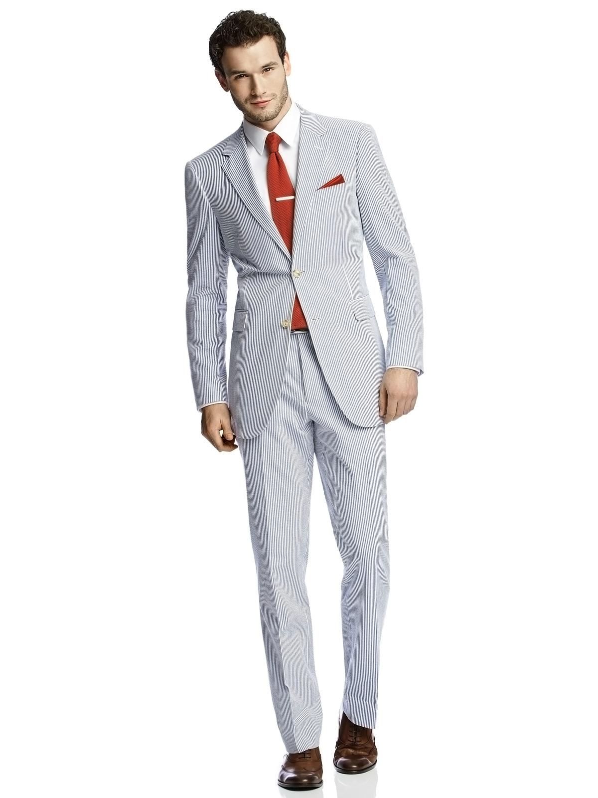 Seersucker Suit Jacket by