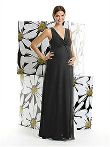 Alfred Sung Maternity Dress Style M406