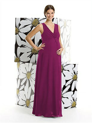 Alfred Sung Maternity Dress Style M406 http://www.dessy.com/dresses/bridesmaid/m406/