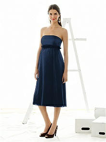 Alfred Sung Maternity Dress Style M415