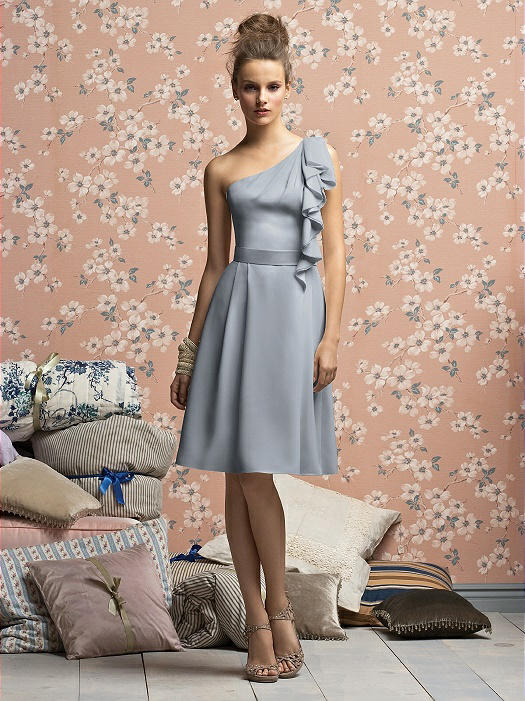 bridesmaid dress taupe