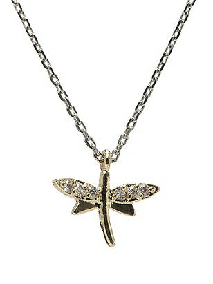 Dragonfly Charm Necklace http://www.dessy.com/accessories/dragonfly-charm-necklace/