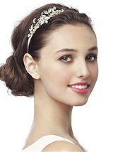 Vintage Look Embellished Bridal Headband