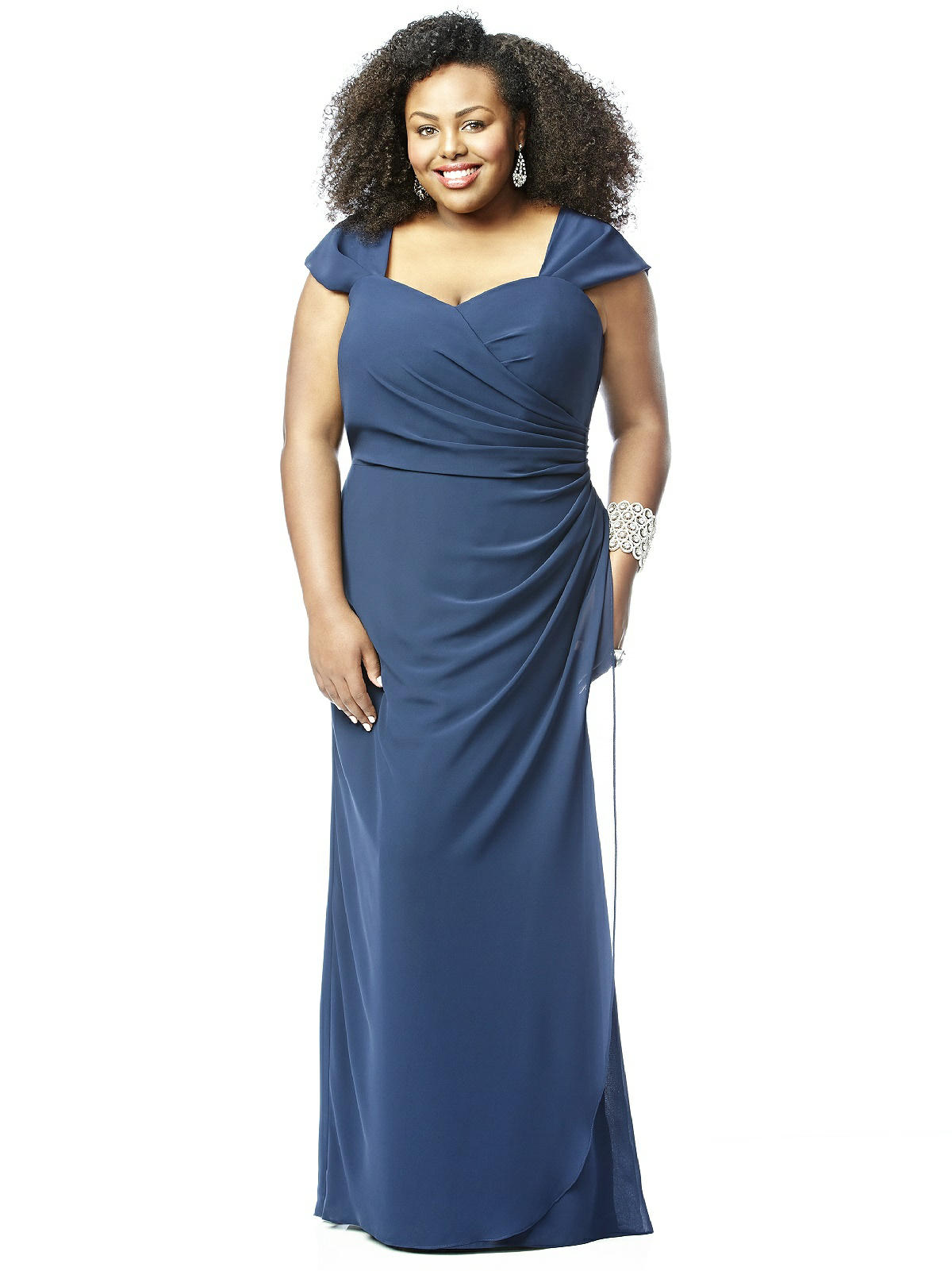 Lovelie Plus Size Bridesmaid Dress 9008 The Dessy Group
