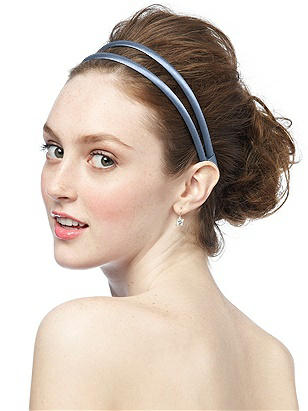 Double Headband in Matte Satin http://www.dessy.com/accessories/matte-satin-headband/