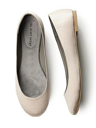 Simple Satin Ballet Flat http://www.dessy.com/accessories/simple-satin-ballet-flat/