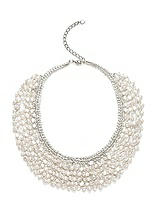 Seapearl Woven Collar Bridal Necklace