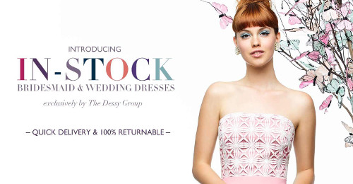In-stock Bridesmaid Dresses and Wedding Dresses. Quick Delivery. 100% Returnable.